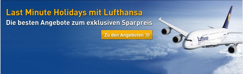 Lufthansa Specials Nur Bei Ltur Jetzt Last Minute Flüge Buchen