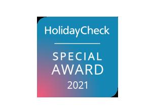 HolidayCheck Award 2021