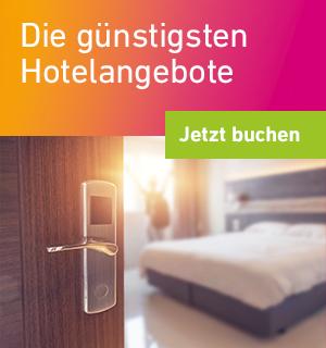 Hier die schönsten Hotels für deine Reise finden!