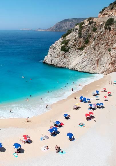 Buche jetzt deinen Kurzurlaub am Strand in der Türkei