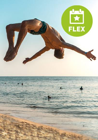 Mit dem Flex Tarif sorglos in den Urlaub 2021