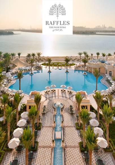 Traumhotel Raffles The Palm Dubai